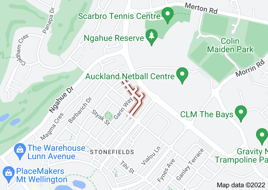 Location of Brian Slater Way