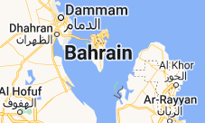 Location of Bahrain