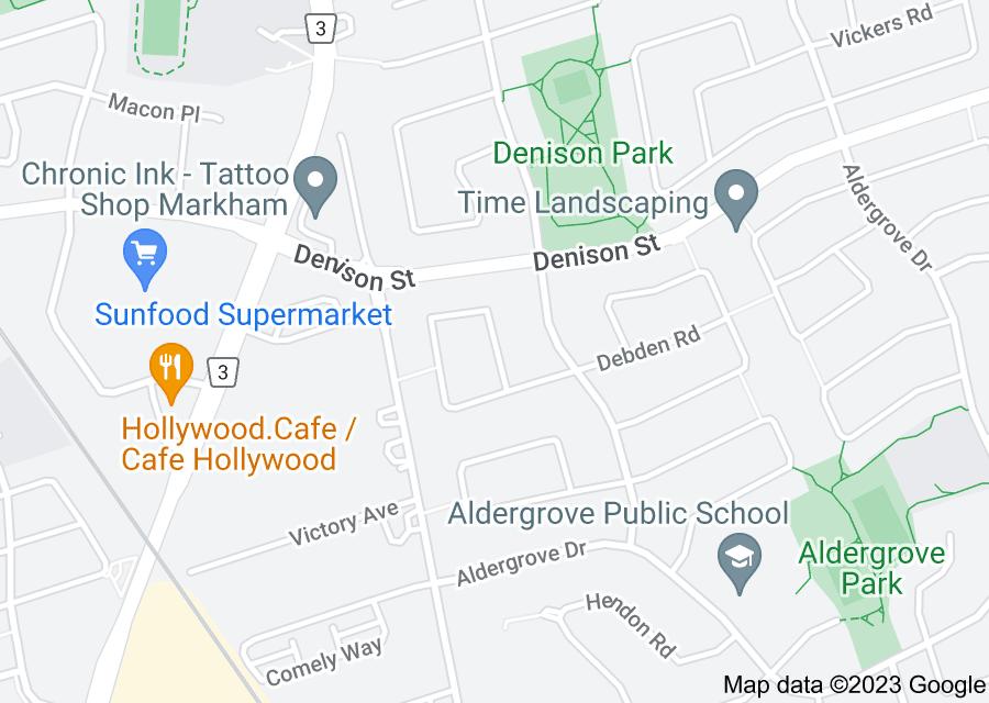 Location of Ashmore Crescent
