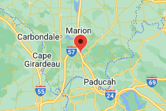 Map of Shawnee National Forest