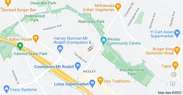 Location of Galbraith Street