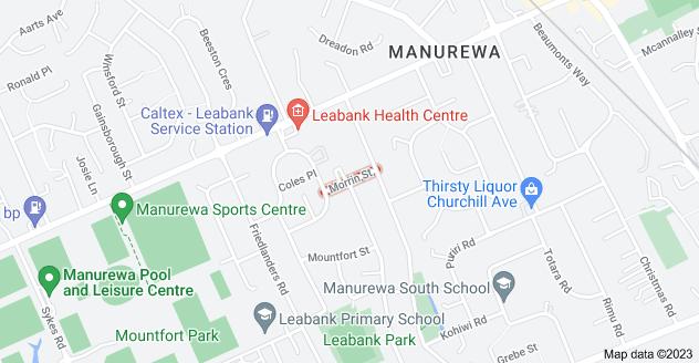 Location of Morrin Street