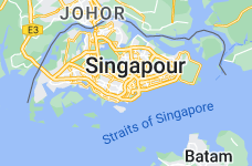 Location of Singapour