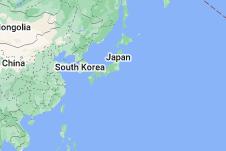 Location of Japan