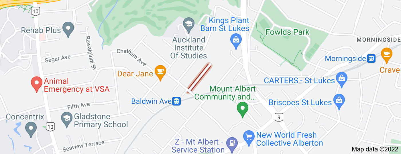 Location of Norrie Avenue