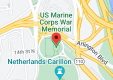 Map of US Marine Corps War Memorial