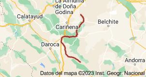 Mapa de Ro Huerva