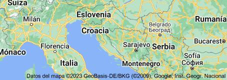 Location of Croacia