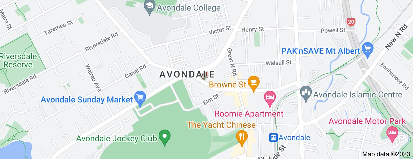 Location of Community Lane