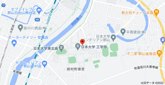 〒963-1165 福島県郡山市田村町徳定中河原1の地図