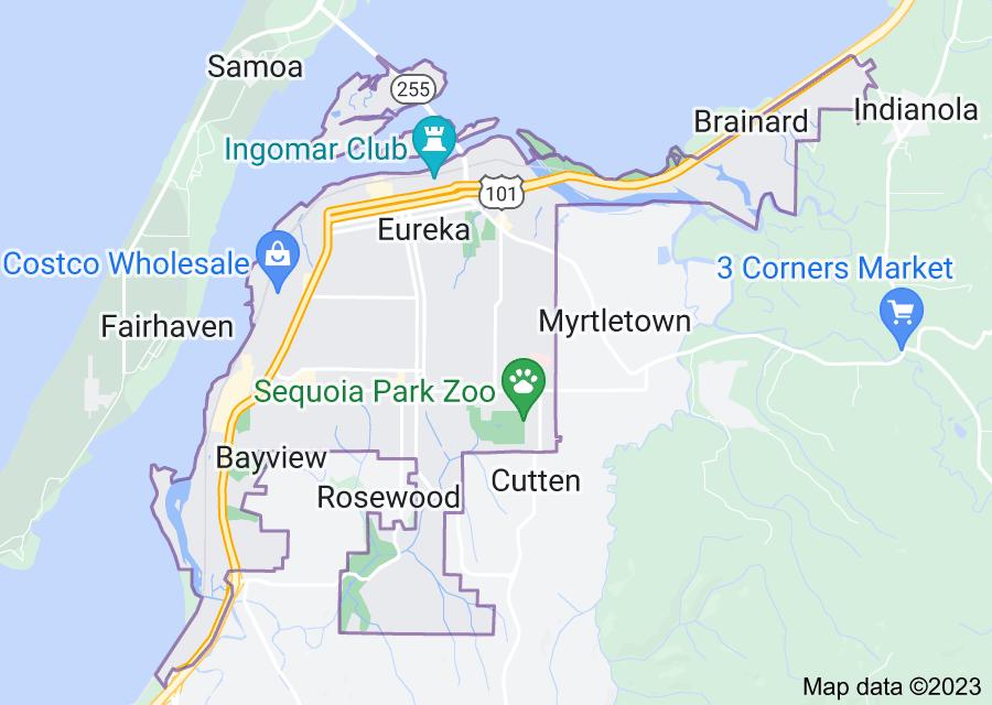 Location of Eureka