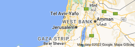 Location of State of Palestine