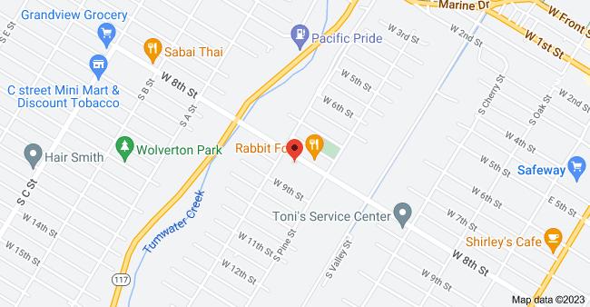 Map of 528 W 8th St, Port Angeles, WA 98362