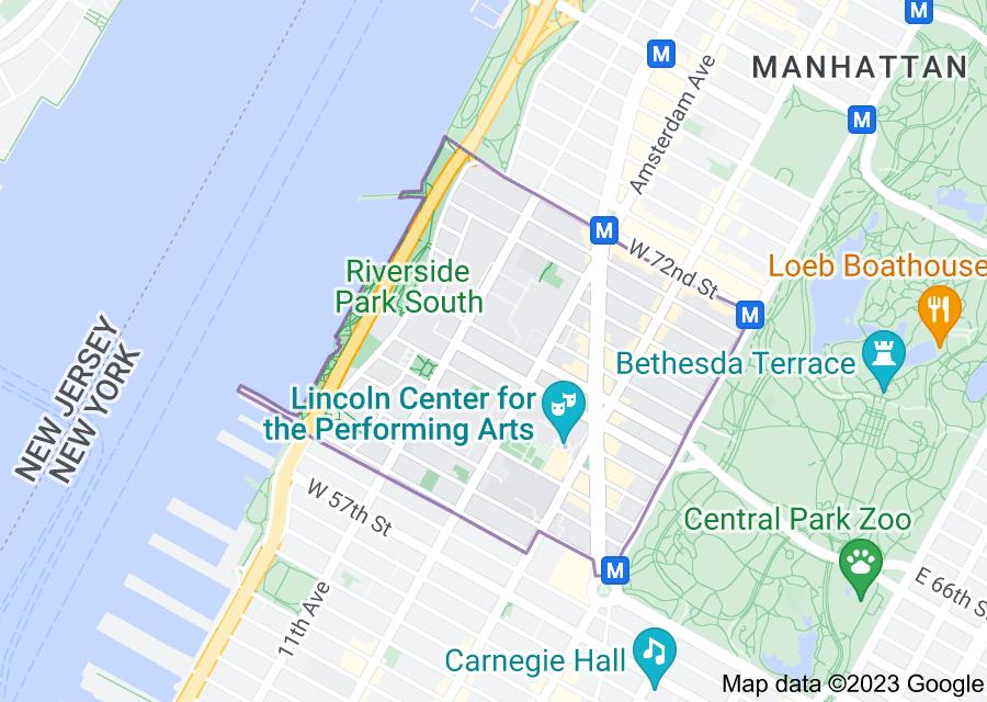 Location of Lincoln Square