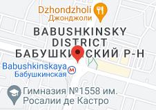 Location of Babushkinskaya