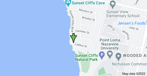 Sunset Cliffs Blvd & Ladera St, San Diego, CA 92107