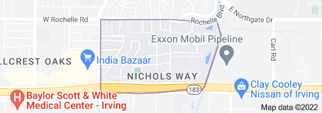 Nichols Way Irving,Texas <br><h3><a href=