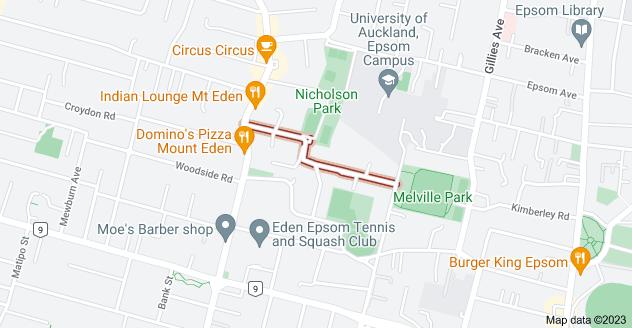 Location of Disraeli Street