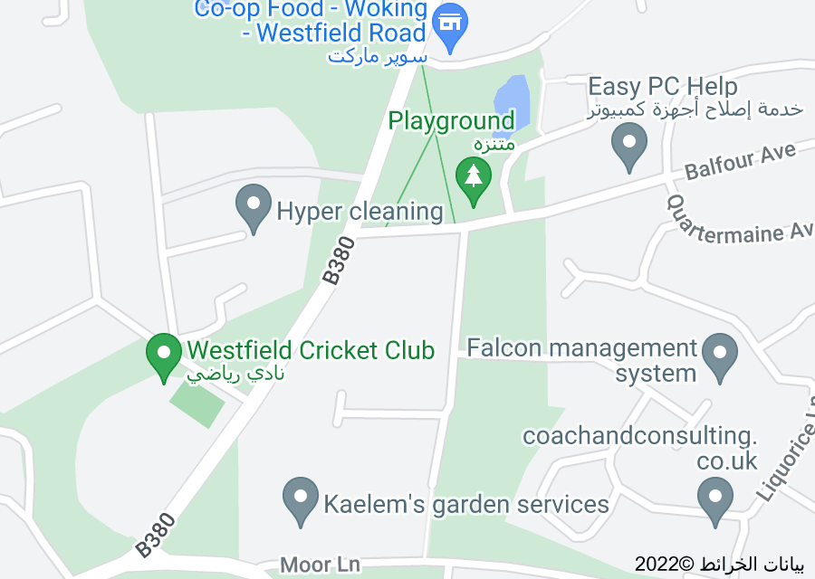 Location of Westfield
