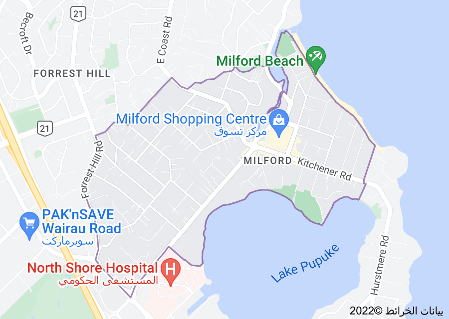 Location of Milford