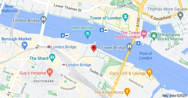 Map of 2 More London Riverside, London SE1 2JP