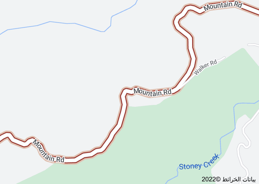 Location of Mountain Road