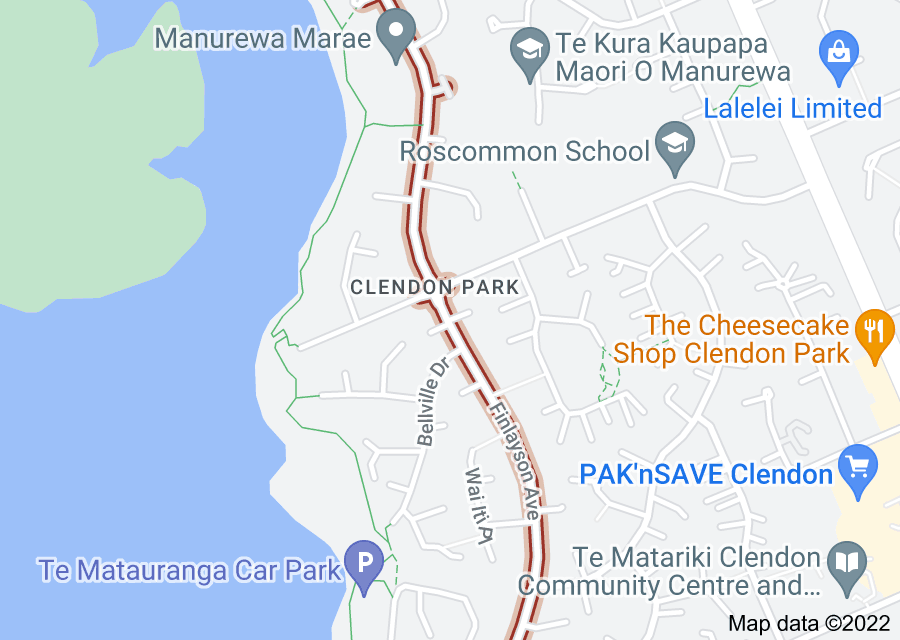 Location of Finlayson Avenue