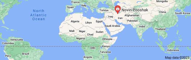 Map of کانال تلگرام