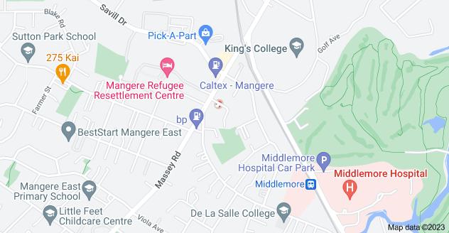 Location of Miami Street