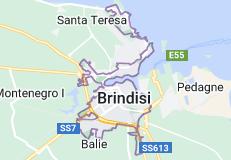 Mappa di: Brindisi