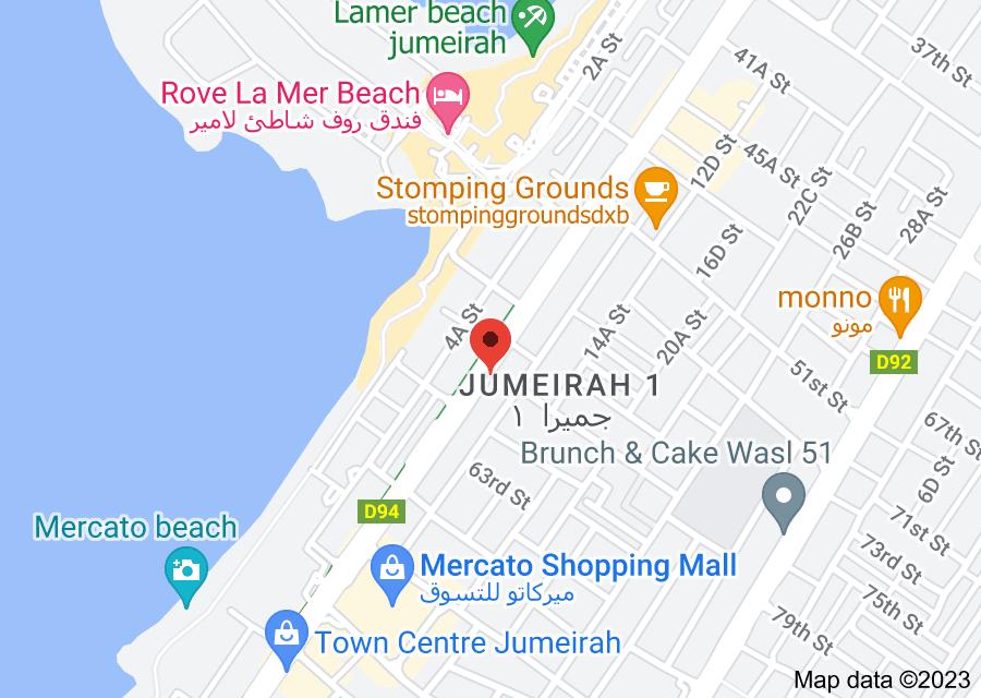 Location of American Dental Clinic