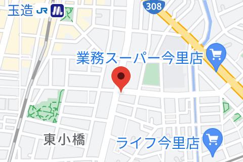 フロイデ 玉造スタジオの地図