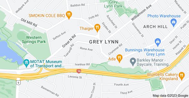 Location of Barrington Road