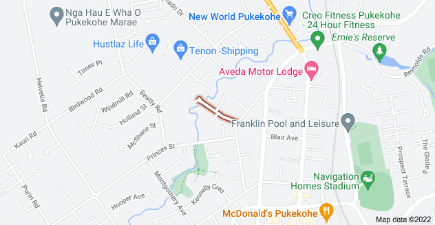 Location of Childs Avenue