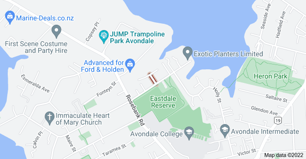 Location of Malory Street
