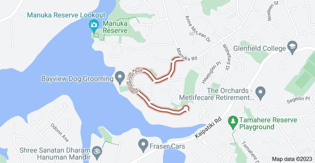 Location of Pemberton Avenue