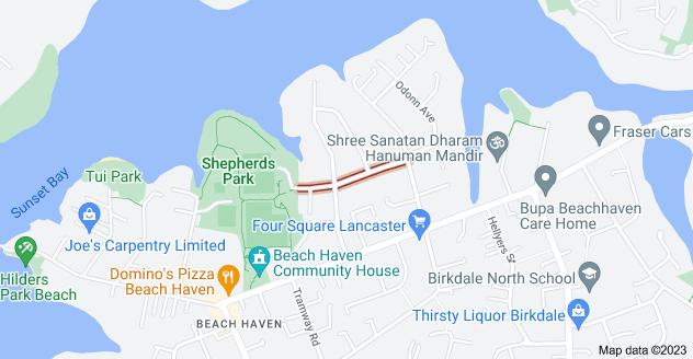 Location of Melba Street