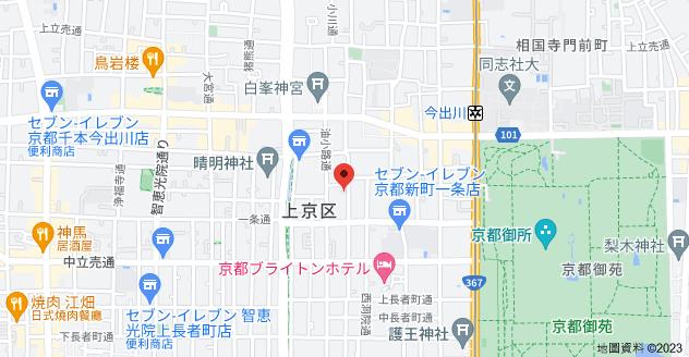 日本〒602-0943 Kyōto-fu, Kyōto-shi, Kamigyō-ku, Kōdōchō (Ogawadōri), 581 デトム・ワン烏丸一条地圖