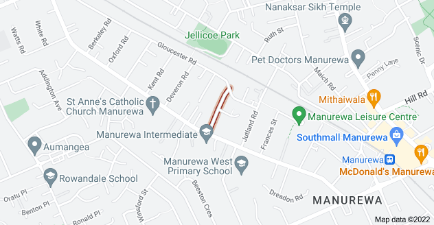 Location of Kerrydale Road