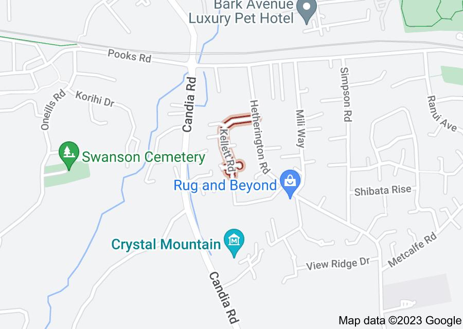 Location of Kellett Road