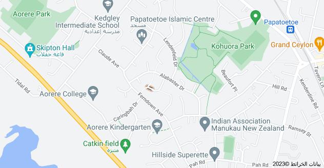 Location of Navigator Place