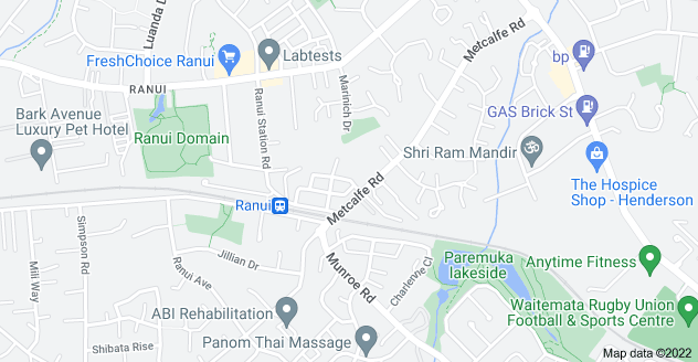Location of Duxfield Drive