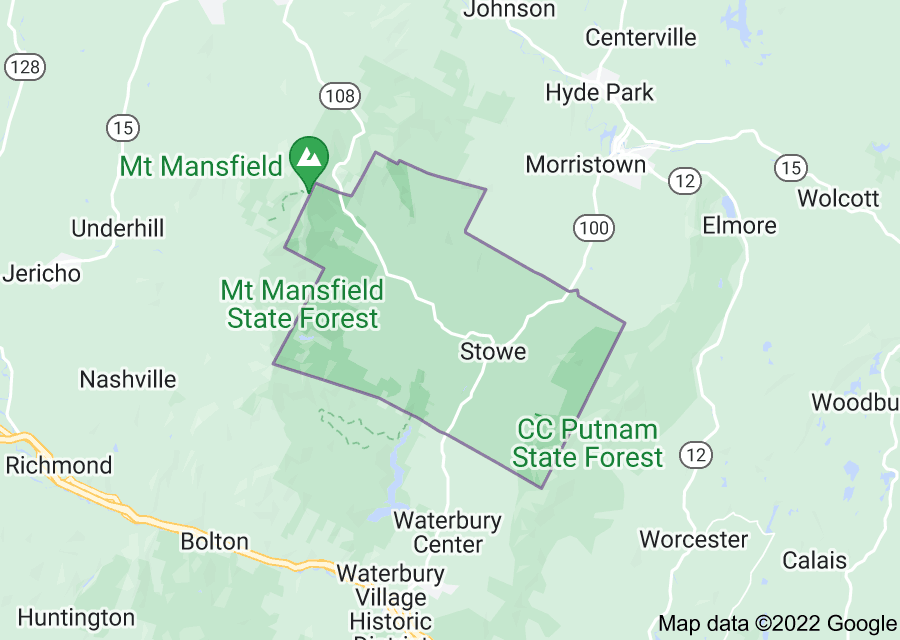 Location of Stowe