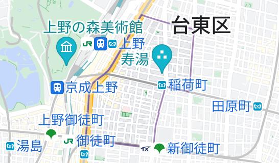 東上野の地図