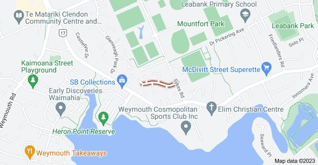 Location of Bernina Place