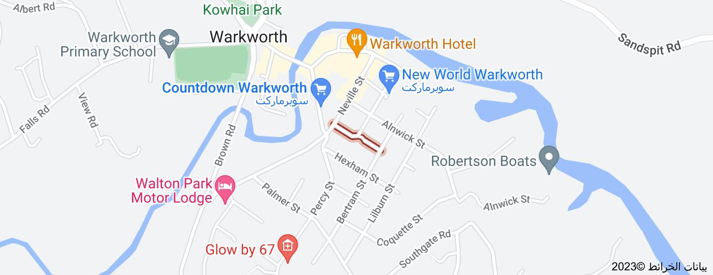 Location of Morpeth Street