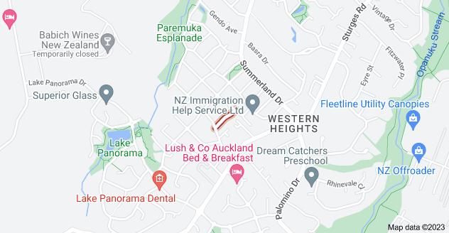 Location of Natasha Lane