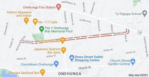 Location of Grey Street