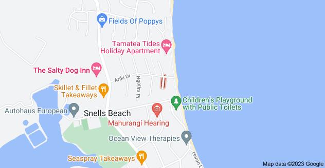 Location of Moana Terrace