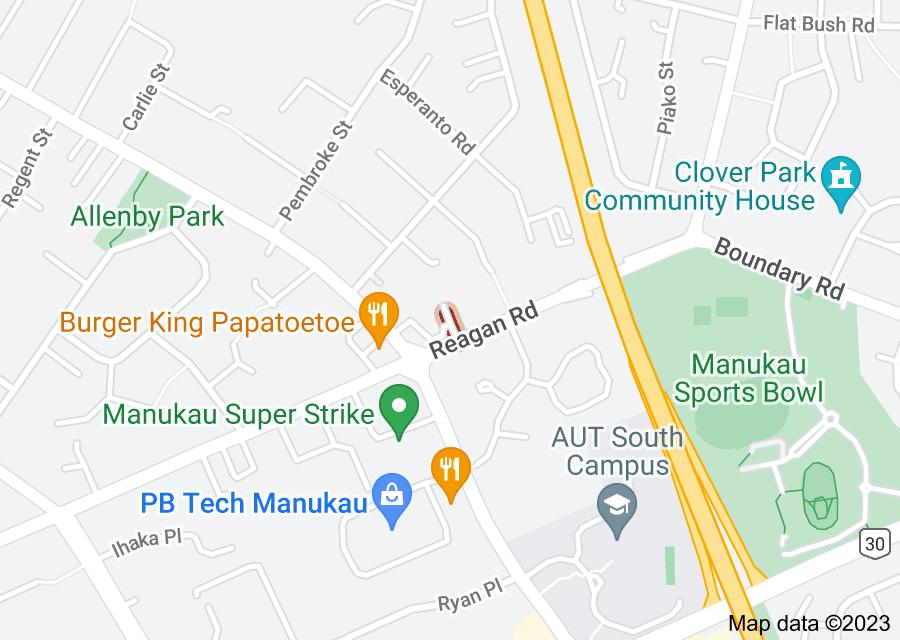 Location of Albert Road